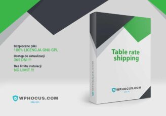 Plugin do Woocommerce Table Rate Shipping